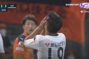 ฟุตบอลเจลีก ชิมิสุ เอส-พัลส์ 3-1 คอนซาโดเล่ ซัปโปโร Shimizu S-Pulse 3-1 Consadole Sapporo
