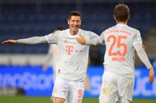บุนเดสลีกา อาร์มิเนีย บีเลเฟลด์ 1-4 บาเยิร์น มิวนิค Arminia Bielefeld 1-4 Bayern Munchen
